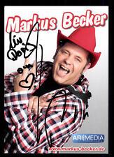 Markus Becker Autogrammkarte Original Signiert ## BC 41239