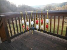 Columbia River corks / floats on knotted marine rope for nauticle decorating