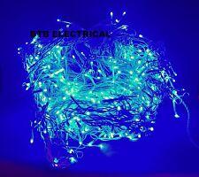Stirbright 5415 ultra bright led icicle lumières bleu 10m jardin, fête, noël