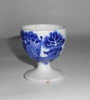 Allertons Flow Blue China Willow Eggcup!