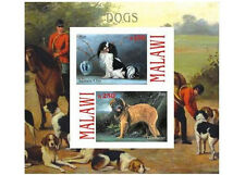 ** Dogs / Leonberger Japanese Chin  Malawi 2010 mint MNH IMPERF  #C282
