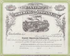 PABST BREWING COMPANY.....UNISSUED STOCK CERTIFICATE