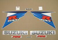 GSX-R 750 2010 complete decals stickers graphics kit set L0 adhesivos pegatinas
