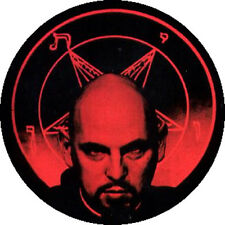 CHAPA/BADGE ANTON LAVEY . church of satan satanic bible kenneth anger