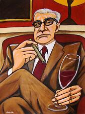 MARTIN SCORSESE CIGAR PRINT poster raging bull taxi driver wine cohiba fuente