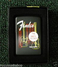 Fender 1955 Catalog Cover Zippo Lighter