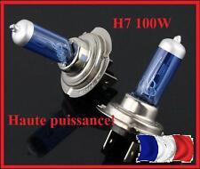 2 AMPOULES H7 ULTRA WHITE  HAUTE PUISSANCE 100 W