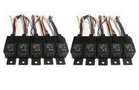 20 pcs 12 Volt Bosch Style SPDT 40 Amp Relays & Sockets