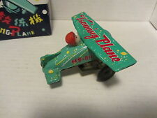 ANTIQUE REPRODUCTION TRAINING PLANE (GREEN) ~ NEW BOXED
