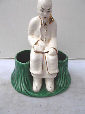 VINTAGE-SIERRA VISTA -ORIENTAL MAN- CALIFORNIA POTTERY, EXCELLENT CONDITION