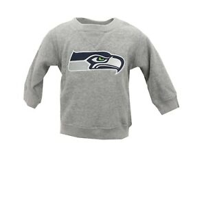 Seattle Seahawks Official NFL Apparel Baby Infant Size Sweatshirt New with Tags