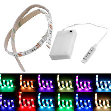 4.5V Battery Operated 50CM RGB LED Strip Light Waterproof Craft Hobby Light AL#