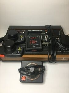 Atari 2600 Console Joystick and Paddles UNTESTED for Parts or Repair