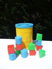 🍓 Ancienne Boite A Cube Fisher Price Vintage Réf: 1024 Année 1977 Complete