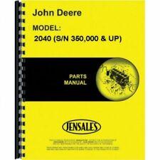 Parts Manual - 2040 2240 John Deere 2040 2240 PC1763