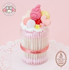 My Melody 40th Anniversary Dolce Deco Cotton Swab Case ◆ Sanrio Japan New Sweets