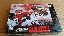 NFL Quarterback Club '96 (US)  SNES Super Nintendo NTSC CIB komplett sealed NEU