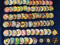 (144) Lot 72 Pulg + 2 Kini Glup's 100% Bonbons # Pog Pogs Cap Caps Tazo Slammer