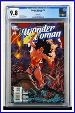 Wonder Woman #14 CGC Graded 9.8 DC January 2008 Variant Cover Comic Book