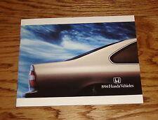 Original 1994 Honda Full Line Sales Brochure 94 Accord Civic del Sol