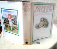 BEYOND The LOOKING GLASS,1973,Various Authors,1st Printing,Illust,DJ