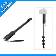 "Lightweight 63"" Camera Monopod Portable Unipod + Bag For NIKON CANON ETC"