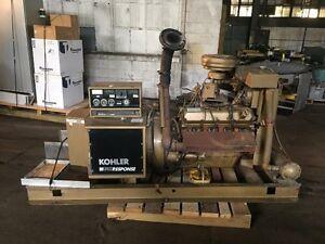 88 KW Kohler Generator, Model 100RZ77 (2792-25)