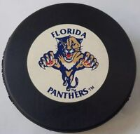 FLORIDA PANTHERS VINTAGE 90s NHL  TRENCH MFG. CZECHOSLOVAKIA HOCKEY PUCK