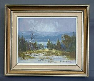 Robyn Collier oil painting Megalong Valley
