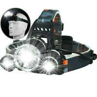 100000LM 18650 T6 LED Headlight Headlamp Head Torch Flashlight Work Light Lamp/