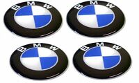 KIT 4 ADESIVI BMW RESINATI 1,5 CM 3D ADESIVO LOGO STIKERS RESINATO COD10