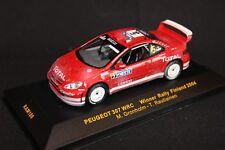 IXO Peugeot 307 WRC 2004 1:43 #5 Grönholm / Rautiainen winners Finland Rally