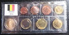 BELGIO 2006 - Serie annuale 8 monete euro FDC/UNC in blister