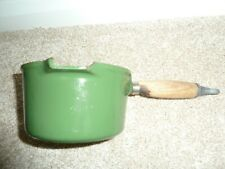 "Le Creuset 6 "" Milk Pan Green"