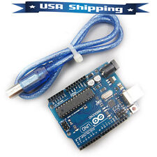 Uno R3 Board Atmega328P Atmega16U2 with Usb Cable for Arduino