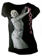 WoW AMPLIFIED BLONDIE im Tiger Dress Debbie Harry 80'ies Pop Star ViP T-Shirt M