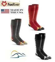 Fox River Burn-out #5223 Best Value Warm Wool Ski Sock Made in USA