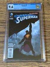Superman #33 CGC 9.6 Wht Pgs John Romita Jr. & Klaus Janson Cover & Art 2014