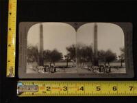 Keystone Stereoview - The Obelisk of Heliopolis, Egypt, c. 1920's