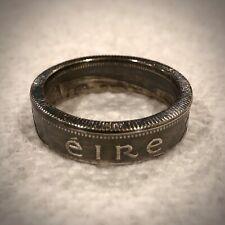 Irish Coin Ring Silver