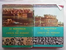 LE MERAVIGLIE DELLE CIVILTA DEL PASSATO 2 Vol Ebers Lefevre Gregorovius Delattre