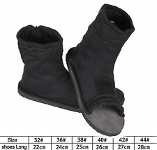 Black Naruto Konoha Ninja Village Cosplay Shoes Sandals Boots Costume Gift 41 US