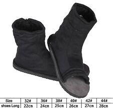 Black Naruto Konoha Ninja Village Cosplay Shoes Sandals Boots Costume Gift  41
