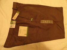 DOCKERS PREMIUM GOLF FLAT FRONT RELAXED FIT MEN'S PANTS- GREEN (38-40 x 32) NWT