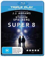 *New & Sealed*  Super 8 (Blu-ray + DVD 2011, 2-Disc Set) Steven Spielberg Sci fi