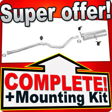 Peugeot 307 SW 2.0 HDi 110HP Estate Silencer Exhaust System 428