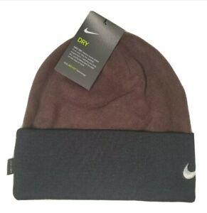 Nike Dry-Fit Unisex Adult Beanie Cuffed Warm Winter Football Hat Cap