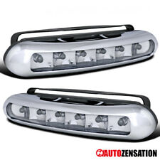 3W 6000K 6-LED Front Bumper Fog Lamps DRL Daytime Running Lights