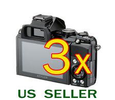 3x Olympus Stylus 1 Digital Camera Clear LCD Screen Protector Guard Shield