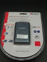 OEM Lindy USB 2.0 zu DVI-I Adapter - Deutsche Premium Qualität